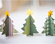 Árvore De Natal Feita Com Papel (4)