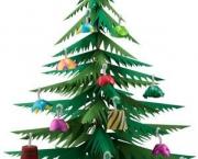 Árvore De Natal Feita Com Papel (7)
