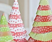 Árvore De Natal Feita Com Papel (12)
