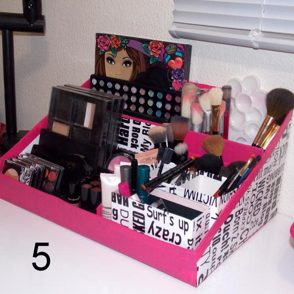 Well-known Como Fazer uma Caixa De Maquiagem   Artesanato - Cultura Mix CK05