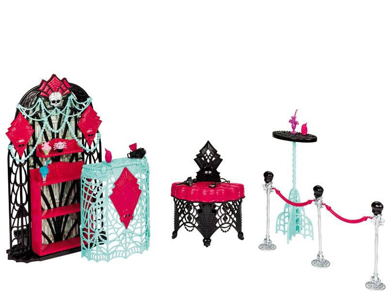utens lios para monster high artesanato cultura mix. Black Bedroom Furniture Sets. Home Design Ideas