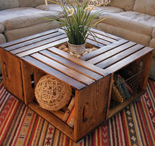 Dicas Legais Para Fazer Mesa com Material Reciclado | Artesanato ...