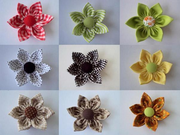 Bolsa De Fuxico Passo Apasso : Flores de fuxico colar e como fazer artesanato