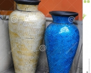 http://www.dreamstime.com/stock-photography-vases-glass-mosaic-two-blue-white-image40012682